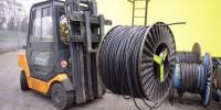 Repam elektro Č. Budějovice manipulace s kabely
