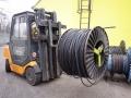 Manipulace s kabelovými bubny