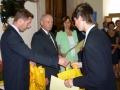Repam elektro odměnil maturanty během předávání maturitních vysvědčení v roce 2011