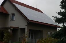 Střecha rodinného domku, Mirotice