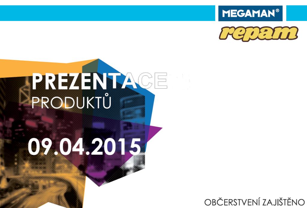 Prezentace produktů Megaman v Repam elektro 9. 4. 2015