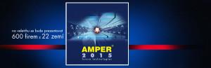 Pozvánka na veletrh Amper 2015