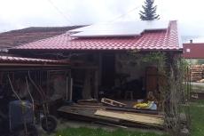 Střecha, Skoronice