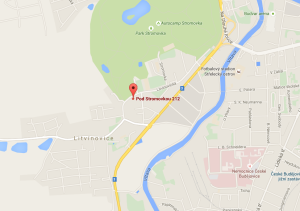 Repam České Budějovice na mapách Google