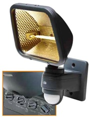 EH 308 Senzorové světlo nástěnné