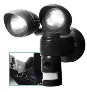 VC 613-3 Senzorové světlo s kamerou 2x60W
