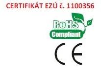certifikát ezú 1100356
